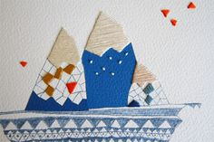 Bondville: The Land Of Fig embroidered art and cards