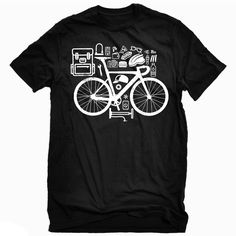 """""""Bike Life"""" Black T  100% premium super soft cotton fabric 