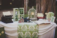 Decor at a Southern Charm Wedding #wedding #decor