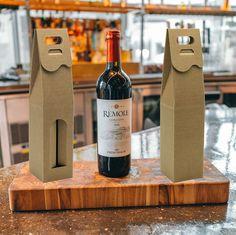 Pudełko eco na wino Sauvignon Blanc, Cabernet Sauvignon, Pinot Noir, Whisky, Champagne, Wine, Drinks, Bottle, Logo