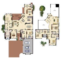 COLONNADE/754 Floor Plan