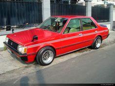 Flashy red! Mistubishi Lancer SL