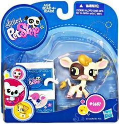 Littlest Pet Shop 2010 Assortment 'A' Series 3 Collectible Figure Cow by Hasbro. $11.99
