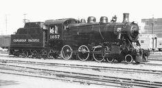 Richard Leonard's Random Steam Photo Collection -- Canadian Pacific 4-6-0 1057