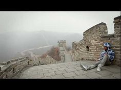 Dubstep Dancing On The Great Wall Of China    Music Buzz Marquese Scott hits The Great Wall of China by vibrating, defying gravity, and generally blowing minds all over again in his latest video. Deal with it, you'll never dance this good.
