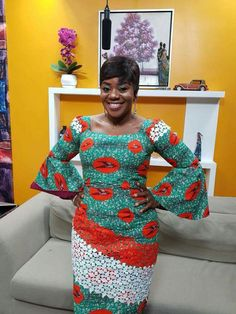 African fashion is in vogue. Discover the latest and best ankara lace styles and more for the year Don't be left out in the ankara print trend. African Fashion Ankara, African Print Fashion, Africa Fashion, African Dresses For Women, African Attire, African Wear, African Style, Lace Dress Styles, Ankara Dress