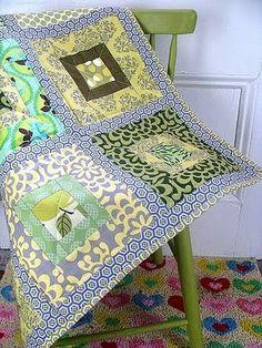 fun squares quilt