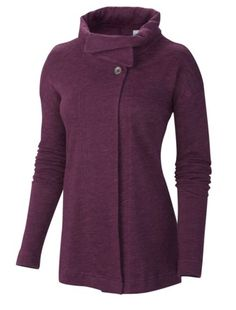"""This super soft and pliable wrap has two, large buttons at the top and looks great over tees and tanks. A very subtle logo will have your friends who touch it saying; """"I LOVE this, who is it?"""""""