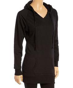 Look what I found on #zulily! Black Fleece Hoodie - Women #zulilyfinds