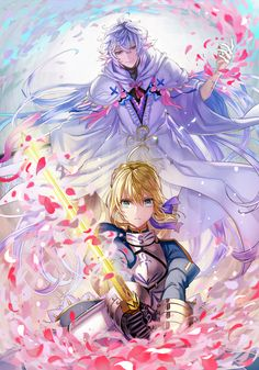 Artoria Saber Merlin Fate
