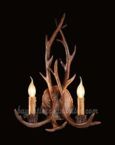 Lights & Lighting Free Shipping American Country Style Antlers Design Resin Hallway Corridor Light Toilet Table Light Wall Lamp Wall Lamps