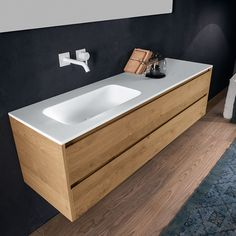 @falperdesign Via Veneto Mod Fresh range of #cabinets & integrated #basins combine fine Matt #Ceramilux with solid skin oak timber veneer for a sophisticated contrast of materials. Large drawers provide ample storage, with wooden dividers for easy organisation.   http://www.rogerseller.com.au/via-veneto-mod-fresh-1200mm-1600mm-solid-skin-oak-cabinet-with-matt-ceramilux-basin   #luxurybathroom #rogerseller #archidaily #architecture #architect #design #designer #designinspo #interiorinspo