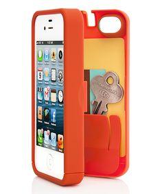 Look what I found on #zulily! Orange Case for iPhone 5/5S by eyn #zulilyfinds
