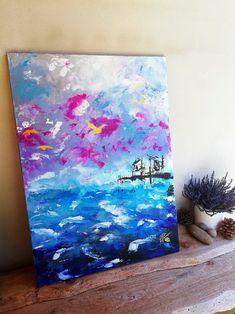 Original Artwork, Romantic, Abstract, Painting, Painting Abstract, Artworks, Idea Paint, Summary, Painting Art