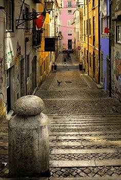 Ancient Italian streets