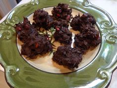 EatingEclectic: Chocolate Covered Pomegranate Clusters