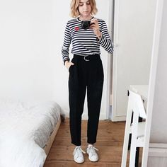Where To Buy All The Stuff You See On Instagram: Commes Des Garcons PLAY Stripe Top | For more ideas, click the picture or visit www.thedebrief.co.uk