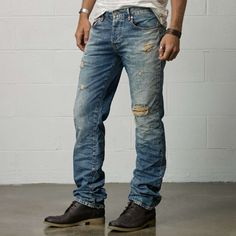 Ralph Lauren   Oceanside Slouch-Fit Jean #ralphlauren #jeans