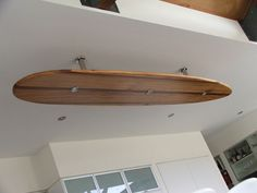 Surfboard bulkhead with LED downlights