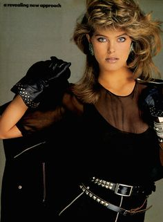 Renee Simonsen. Probably late 80's or early 90's.