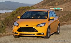 2014 yellow ford focus