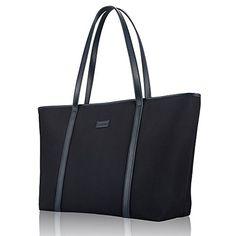 CHICECO Basic Large Travel Tote Shoulder Bag for Women - Blue