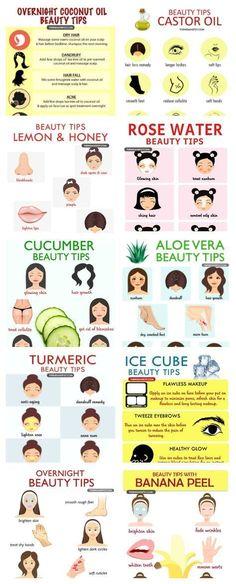 Natural hacks for the natural beauty ❤