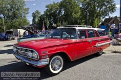 Who took a family trip in a station wagon?    CAR SHOW: 1960 Chevrolet Nomad Wagon