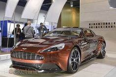 Aston Martin Vanquish 2014 pictures and eyes-on. CES2013, Aston Martin, Car And GPS, Aston Martin Vanquish 2014