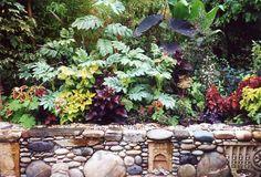Jeffry Bale's garden wall