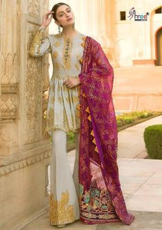 c49a803a18 65 best shree Fabs Pakistani Style dress collections wholesale ...