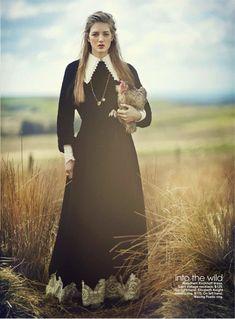 Sofie Sjaastad By Havana Laffitte In 'Amazing Grace' For Teen Vogue November2013