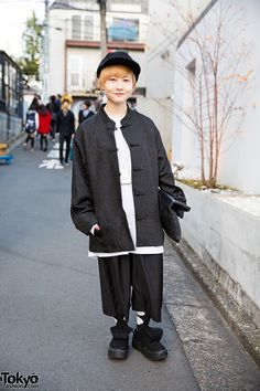 Chinese inspired ... Shimeji | 22 February 2016 | #Fashion #Harajuku (原宿) #Shibuya (渋谷) #Tokyo (東京) #Japan (日本)