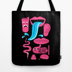 Please Press Play : idokungfoo.com Tote Bag by simonfoo - $22.00