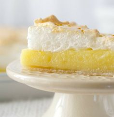 Meyer Lemon Meringue Slab Pie by Living Better Together