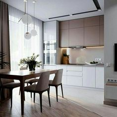 Luxury Kitchen - Regardless of whether you're planning for a move to another house or you essentially need to a kitchen redesign, these astounding kitchen Minimalist But Luxurious Kitchen Design thoughts will prove to be useful. Home Decor Kitchen, Affordable Dining Room, Dining Room Design, Luxury Kitchens, Kitchen Remodel, Kitchen Decor, Kitchen Room Design, Modern Kitchen Design, Luxury Kitchen Design