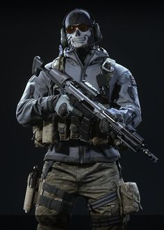 Ghost: Dark Vision Kill House Gameplay in Call of Duty Mobile
