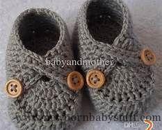 Crochet Baby Booties 2016 Baby Crochet Shoes Baby Booties Crochet Pattern Handmad...