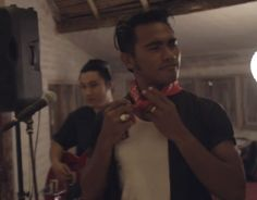 Marcello Arayafara is a humble Balinese lifeguard and the larger-than-life frontman of Bali's legendary rockabilly band, The Hydrant.