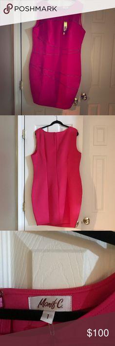 dc232e12461d NWWT Monif C. Bailey zipper dress Sexy zipper detail bodycon dress. Sheer  panel only