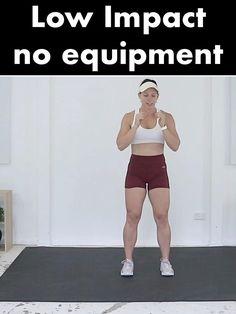 Cardio Workout Plan, Intense Cardio Workout, Full Body Hiit Workout, Cardio Training, High Intensity Workout, Low Impact Workout, Workout Challenge, No Equipment Workout, Tabata