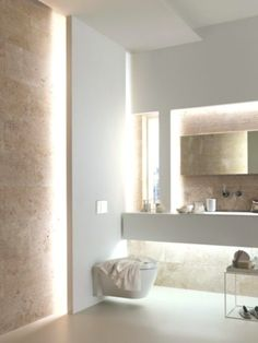 From standard to modern to beach-inspired, bathroom design alternatives are countless. Our gallery showcases bathroom renovation suggestions. Bathroom Interior Design, Modern Interior Design, Restroom Design, Contemporary Bathroom Designs, Contemporary Bathroom Inspiration, Modern Contemporary, Contemporary Bathroom Lighting, Modern Coastal, Modern Boho