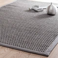 ferienhaus k wohnzimmer flechtteppich aus sisal 160 x 230 cm grau wandfarbe textilien schlafzimmer