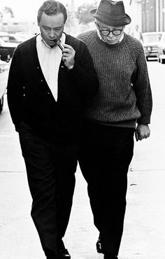 Jack Lemmon and Billy Wilder