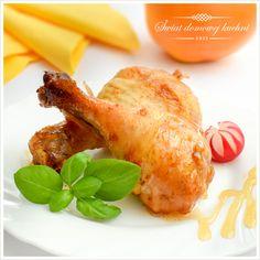 Pałki z kurczaka w miodzie