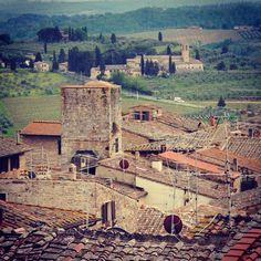 1st of May in s.gimignano
