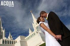 San Diego Mormon Temple with Jen & Rhett