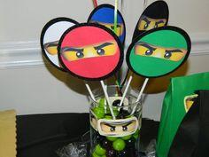 Ninjago center piece #lego #party