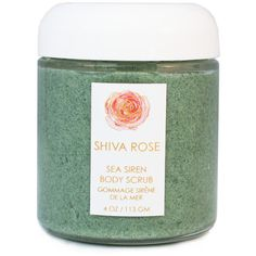 Sea Siren Body Scrub ❤ liked on Polyvore featuring beauty products, bath & body products and body cleansers