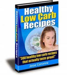 300 Healthy   Tasty Low Carb Recipes pinterest.com/......